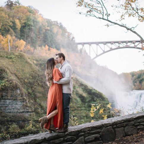 letchworth state park engagement session colin gordon